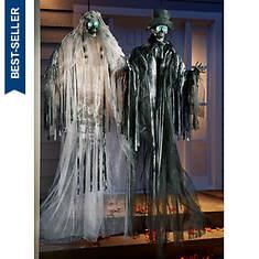 "48"" Skeleton Bride & Groom Set"