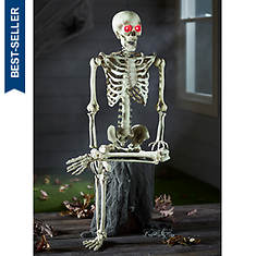 """60"""" Articulated Skeleton with LED Eyes"""
