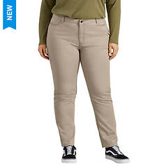 Dickies Women's Perfect Shape Skinny Twill Pant