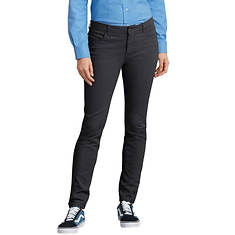 Dickies Women's Perfect Shape Skinny Twill Pant