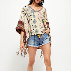 Free People Hidden Gem Poncho