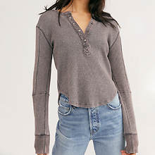 Free People Everest Henley Solid