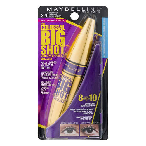 Maybelline Volum'Express The Colossal Big Shot Waterproof Mascara