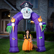 8' Inflatable Skeleton Arch