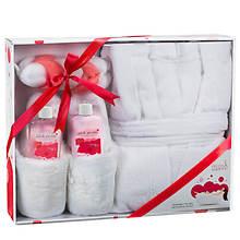 Freida and Joe Luxury Bath and Body Gift Set - Pinky Peony