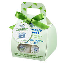 Freida and Joe Inner Calm and Conviction Mini Bath Bombs 6-Pack