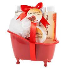 Freida and Joe Pomegranate Bath Tub Gift Set