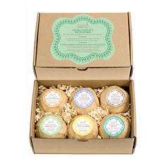 Freida and Joe Calm & Conviction Bath Bomb 6-Piece Gift Set