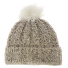 UGG® Women's Boucle Knit Cuff Hat w/Pom