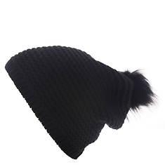UGG® Women's Reverse-Stitch Beanie w/Pom