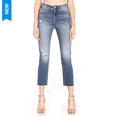 Miss Me H3636CT3 Cropped Straight Leg Jean