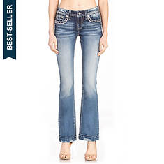 Miss Me M3620B Distressed Bootcut Jean