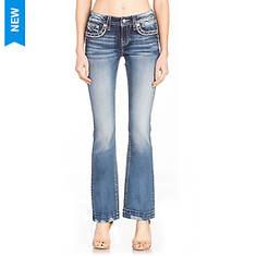 Miss Me M3620B Distressed Bootcut Jean