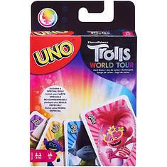 Mattel Games UNO Trolls World Tour