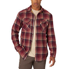 Wrangler Men's Thermal Lined Flannel