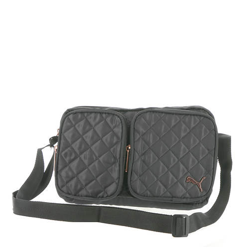 PUMA Lux Quilted Shoulder Bag