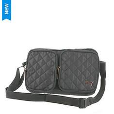 PUMA Lux Quilted Shoulder Bag