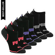 PUMA Women's P114447 Low Cut 6 Pack Socks