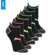 PUMA Women's P114701 Low Cut 6 Pack Socks