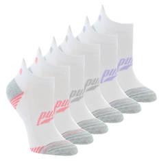 PUMA Women's P115051 Low Cut 6 Pack Socks