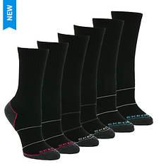 Skechers Women's S113986 Crew 6 Pack Socks
