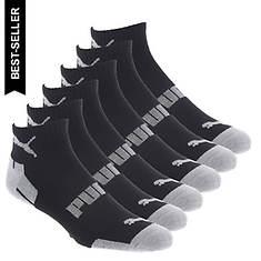 PUMA Men's P114385 Quarter 6-Pack Socks