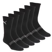 PUMA Men's P115312 Crew 6-Pack Socks