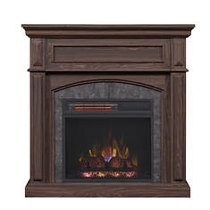 "Chimney Free 34""Corner Electric Fireplace"