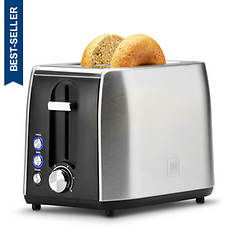 Toastmaster Fast-Toasting Two-Slice Stainless Steel Toaster