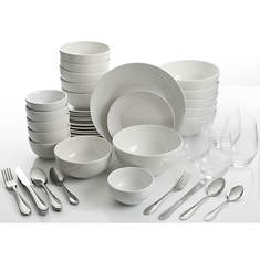 Gibson All You Need 60-Pc. Dinnerware Set