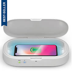iLIVE UV Cellphone Sanitizer with Wireless Charger and Aromatherapy