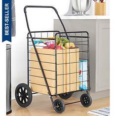 Whitmor Black Deluxe Utility Cart