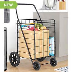 Whitmor Grey Deluxe Utility Cart