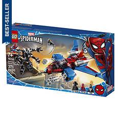LEGO® Spider Heroes Spiderjet vs Venom Mech 371pc