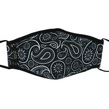Zigi Soho Paisley Face Mask with Filters