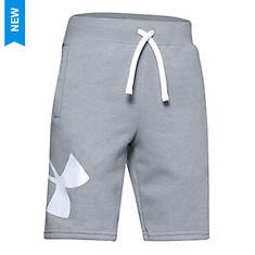 Under Armour Boys' Rival Fleece Logo Shorts