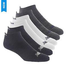 New Balance Men's Low Cut NB Toe Basic 6-Pack Socks