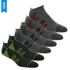 New Balance Men's Low Cut N Logo 6 Pack Socks