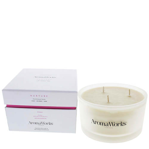 Aroma Works Large 3-Wick Nurture Candle