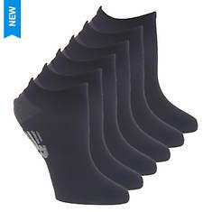 New Balance Women's Flatknit Low Cut NB 6 Pack Socks