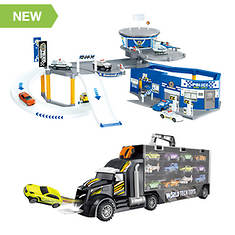 Diecast Cruisers 50-pc. Deluxe Playset