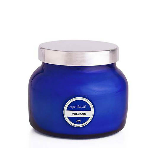 Capri Blue Volcano Petite Blue Jar Candle