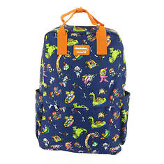 Loungefly Nickelodeon Retro Characters Backpack