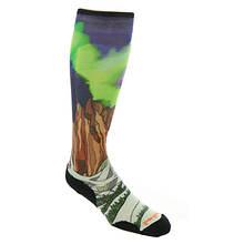 Smartwool PhD Ski Light Elite Homechetler Print Over the Calf Socks