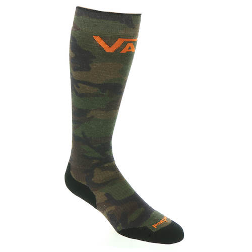 Smartwool PhD Snow VANS Woodland Camo Print Light Elite Over the Calf Socks