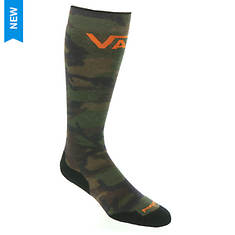 Smartwool PhD Snow VANS Woodland Camo Print Light Elite Over the Calf Socks