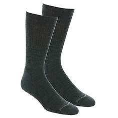 Smartwool Men's Heathered Rib Crew 2-Pack Socks