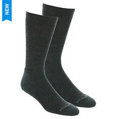 Smartwool Men's Heathered Rib Crew 2-Pack Socks