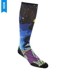 Smartwool PhD Ski Ultra Light Benchetler Print Over the Calf Socks