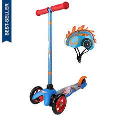3-Wheel Scooter With Helmet Bundle